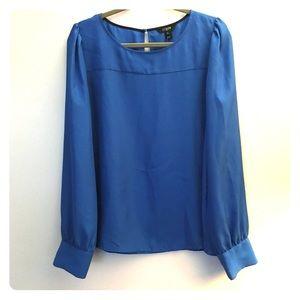 J.Crew Cobalt blue blouse